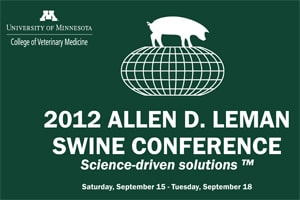 UMASH at the Allen D. Leman Swine Conference
