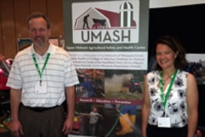UMASH at International Society for Agricultural Safety and Health (ISASH) 2014
