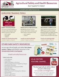 UMASH Agricultural Safety and Health Resources Image