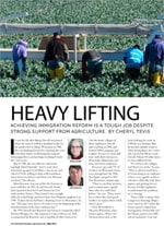 Heavy Lifting Article on Immigration Reform