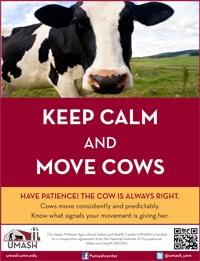 Keep Calm and Move Cows Poster - Version 1 Image