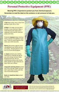 Hmong Personal Protective Equipment (PPE) Image