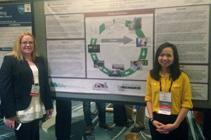 Andrea Mahnke Presents Return to Work Poster at American Medical Informatics Association (AMIA) 2015