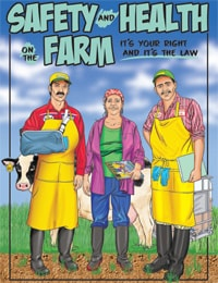 Bilingual Comic: Safety and Health on the Farm (English)