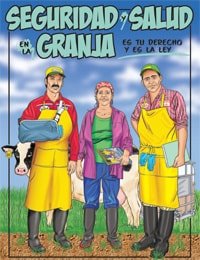 Bilingual Comic: Safety and Health on the Farm (espanol)