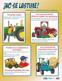 Safety Poster - Spanish