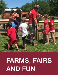 Farms, Fairs, and Fun – Be sure to wash your hands Image