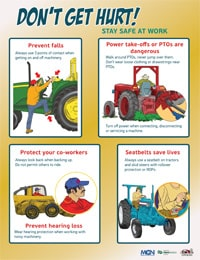 Safety Poster - English