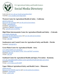 US Ag Centers Social Media Directory Image