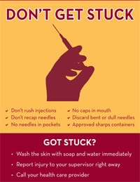11x17 Needlestick Prevention Poster