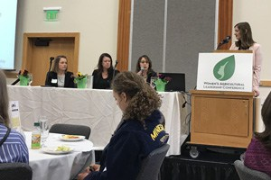 UMASH at Women's Agricultural Leadership Conference