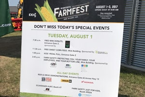UMASH at Minnesota Farmfest 2017