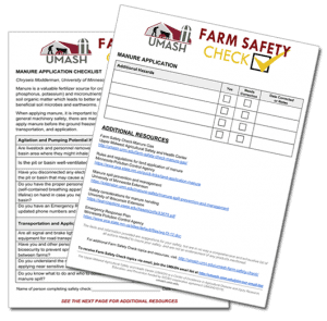 Farm Safety Checklists