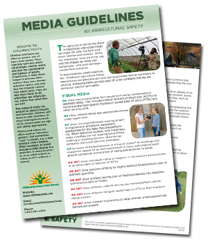 Media Guidelines For Ag Safety