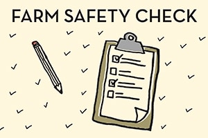 SPOTLIGHT: Check Out Our Checklist – Take 5 Minutes to Save a Life