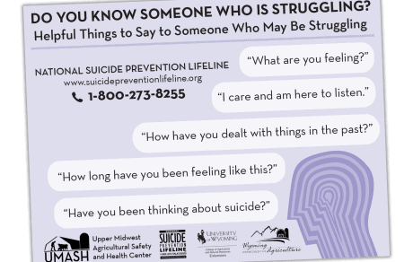 Do you Know Someone who is Struggling?