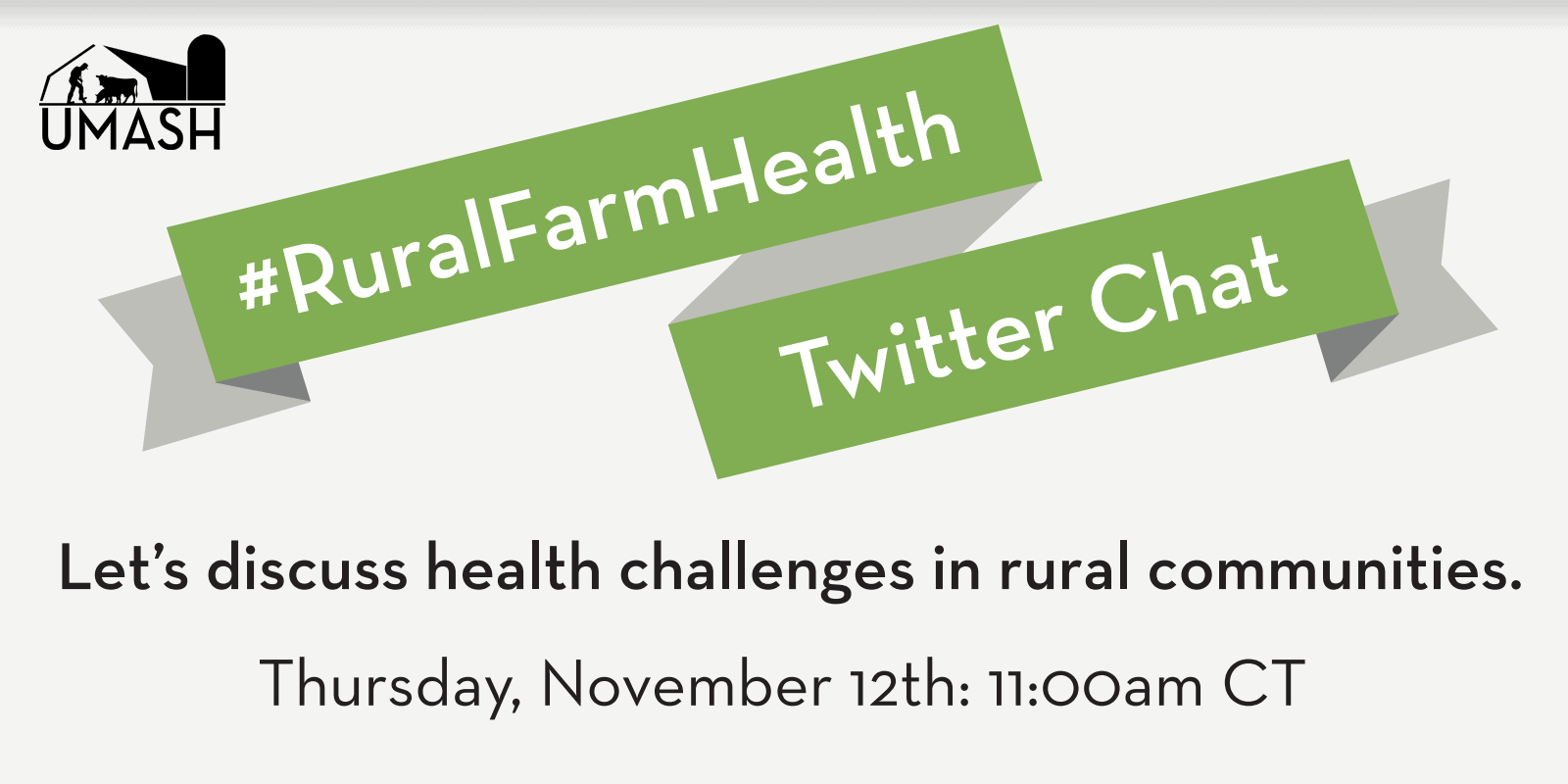 Rural Farm Health Promotional Card