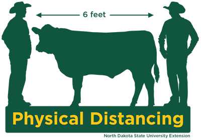 SPOTLIGHT: Practice Physical Distancing on the Farm