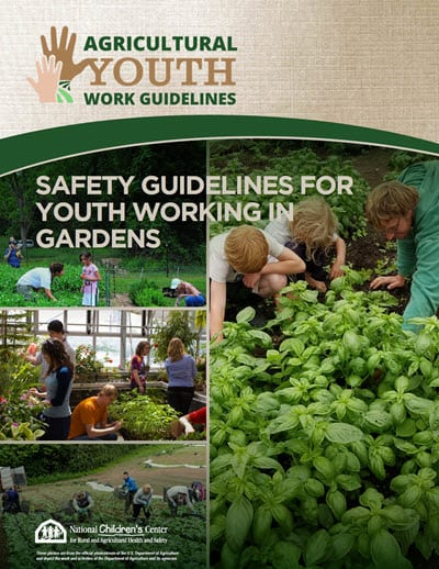 Youth Working in Gardens Booklet